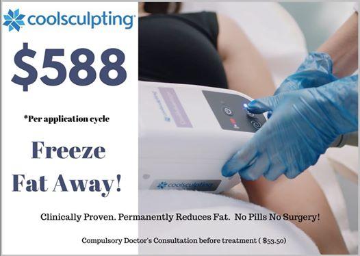 Freeze fat away!