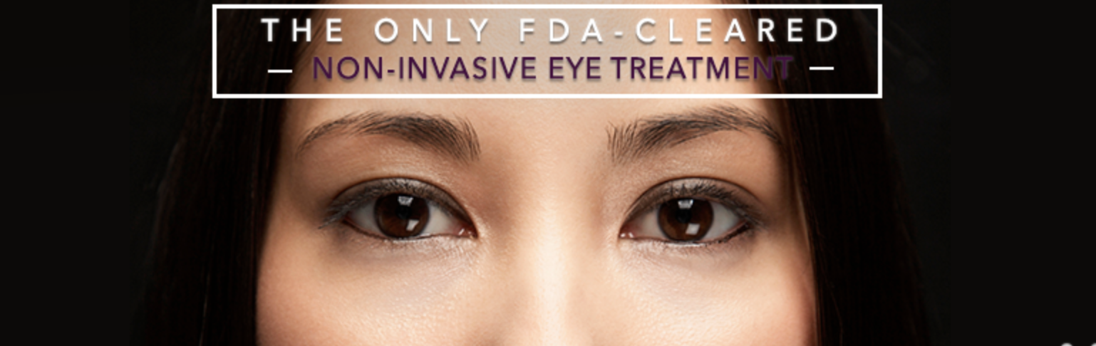 Thermage Eye treatment is the only non invasive facelift that is FDA approved. This service is available at Dr Cindy's Medical Aesthetics.