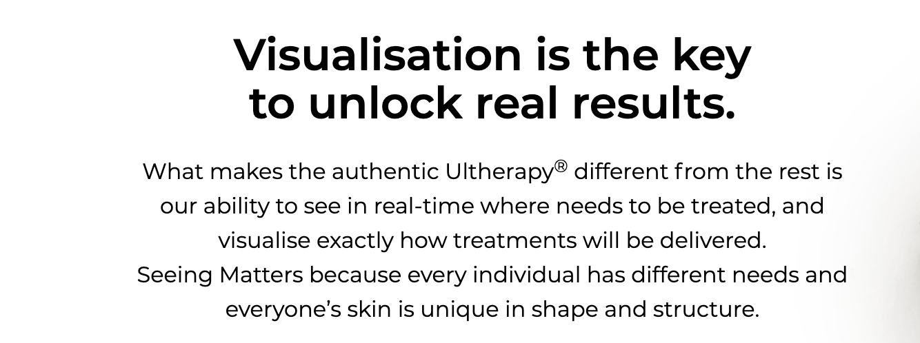 Ultherapy precision at Dr Cindy's Medical Aesthetics