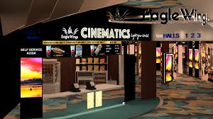 Eagle wings cinematics in KAP Mall